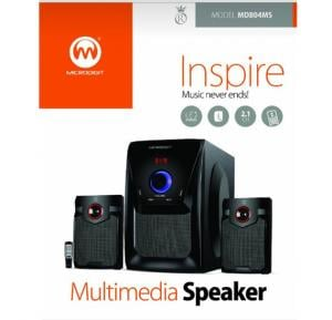 Microdigit 2.1 Multimedia Speakers MD804MS