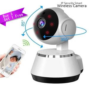 Buy 3 Get 1 FREE, Elony IP Security Smart Net Camera, High Resolution Wireless WiFi Indoor Camera