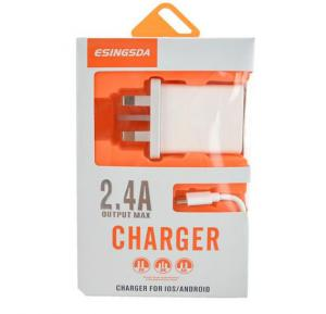 3 USB Quick Charge 2.4A Output Max Charger for IOS and Android