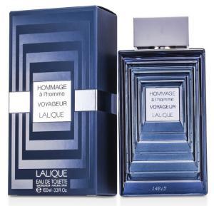 Lalique Hommage Voyageur Edt 100ml For Men