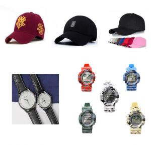 10 piece fashion kit, 3 piece cap, 5 piece digital analogue Sports watch and Couple watch Set
