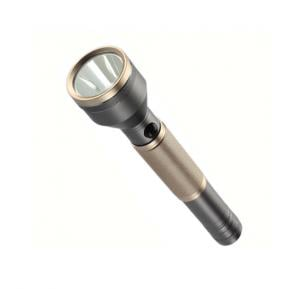 Geepas Rechargeable LED Flashlight with Power Bank - GFL4666