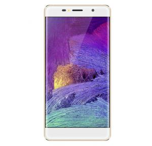 Microdot MD-01 Smartphone with Fingerprint, 4G, Android 6.0 (Marshmallow), Quad Core, 5.0 inch HD IPS Display, 1GB RAM, 8GB Storage, Dual Camera, Dual SIM, Wifi - Gold