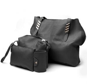 Jin huie 4 in one set bag FL1 Black