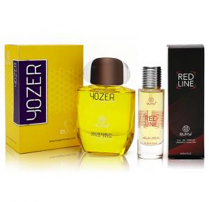 Ruky Yozer For Unisex 100ml+ Ruky Red Line Eau De Perfume 30ml