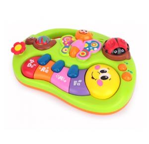 Hola  Baby Toys Learning Machine Toy with Lights & Music Toy,927,6 m and above,multi