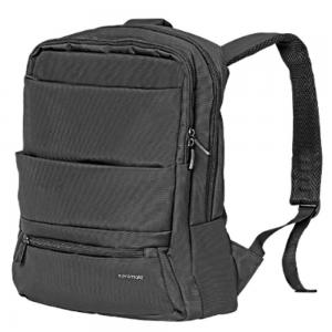 Promate Laptop Backpack, 15.6 Inch - Black