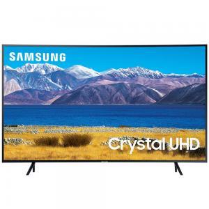 Samsung 65 Inch Curved 4K Crystal UHD HDR Smart TV – 2020, 65TU8300, Black