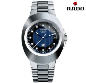 Rado R12637163 Mens Blue Dial Metal Band Watch R12637163