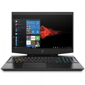 HP Omen 15 DH0007NE Gaming Laptop, 15.6 Inch Display Core i7 Processor 16GB RAM 1TB-256SSD Storage 6GB Graphics Win10