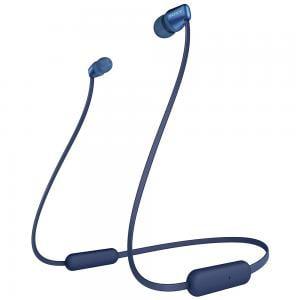 Sony Wireless 15-Hour Battery Life Bluetooth Version 5.0 In-Ear Headphones, WI-C310, Blue