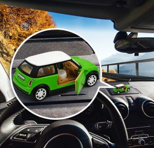 Roadrover Classic Mini Cooper Toy Car With Air Freshner - 8802A