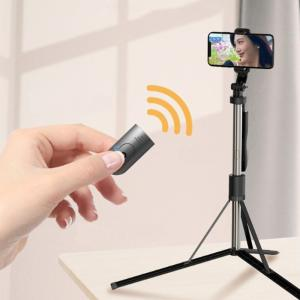 Bluetooth 2 in 1 Remote Control Selfie Stick Tripod Stand For Android And iPhone, L05