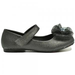 Verde Flat Ballerinas Girls, Black
