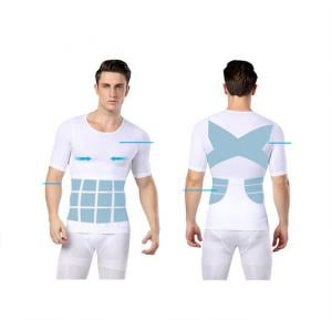 Just One Shapers Seamless Slimming Shirt for Men white - XXL / XXXL