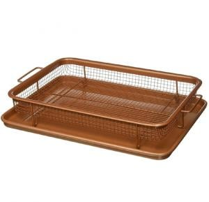 Copper Crisper Copper Chef 2 Pcs Sets
