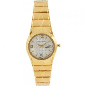 Mount Royale Womens Metal Analog Wrist Watch Gold, 1618L
