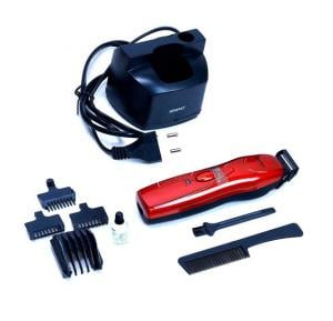 Sparcot Cordless Rechargeable Beard Trimmer - SP1947-Red