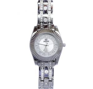 Decambridge Analog Watch For Women Full Silver - 1012LB