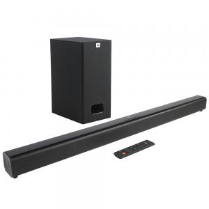 JBL Soundbar with Wireless Subwoofer Set, SB160BLKUK, Black