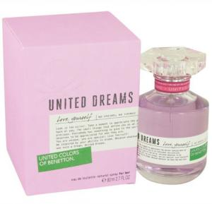 Colors of Benetton United Dream Love Your Self for Women EDT 80ml