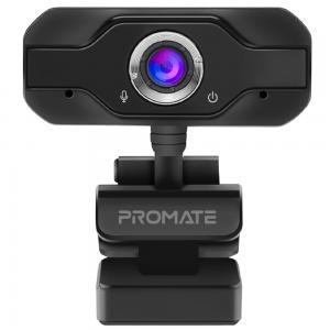 Promate Full HD Webcam 1080P, Professional Widescreen Video Call and Recording USB Webcam, PROCAM-1