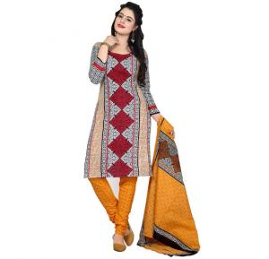 Rudra 2010 Cotton Printed Dress Material