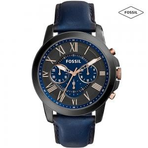 Fossil SP/FS5061 Chronograph Watch For Men, Smoke