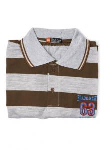 Generic Casual Tshirt for Men Brown Large