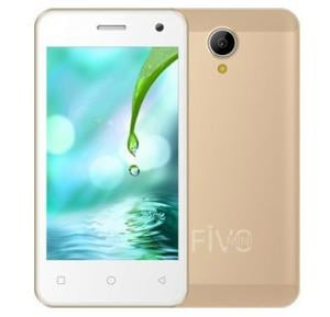 i-life Fivo Mini S 3G Mobile, 4 Inch Display, 512MB RAM, 4GB Storage, Dual Camera, Wifi, Android OS - Gold