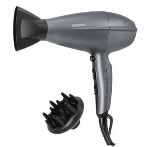 Geepas GHD86052 Hair Dryer Styling Concentrator Grey