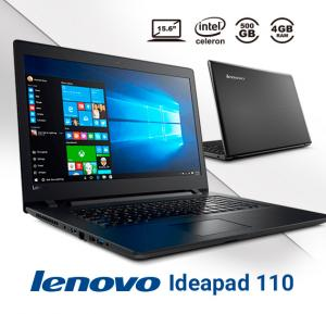 Lenovo Ideapad 110 Laptop,Intel Celeron,15.6 inch Display,4GB RAM,500GB Storage,DOS
