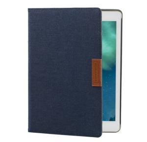 Promate FabriFlip Air 2 Premium Protective Fabric Folio Case for iPad Air 2, Blue