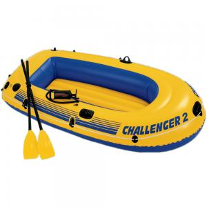 Intex Inflatable Challenger 2 Boat Set, 68367