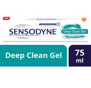 Sensodyne Deep Clean Gel, 75Ml,HC531