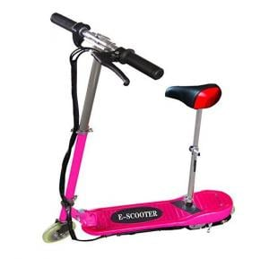 Pink Electric Scooter with Removable Seat