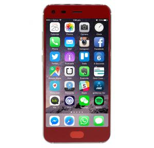 Discover M6 4G Smartphone, 5 Inch Display, Android OS, 2GB RAM, 16GB Storage, Dual SIM, Dual Camera - Red