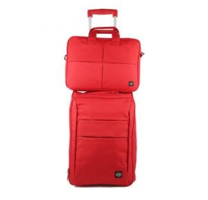 Okko 2in1 Foldable trolley with laptop bag -Red-36423