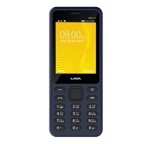 Lava ARC101 2G Mobile, 2.4 Inch TFT Display Display, Dual SIM, Black