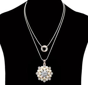 Fashion Jewelry Ball diamond  Necklace NO.FJ-410