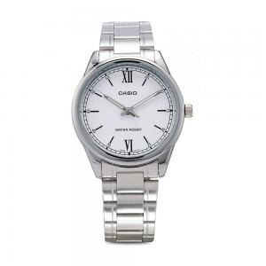 Casio Mens Analog White Dial Watch, MTP-V005D-7B2UDF