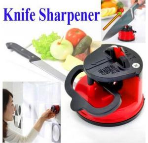 Knife Sharpener Scissors Grinder Secure Suction Chef Pad