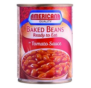 Americana Baked Beans In Tomato Sauce 400gm, 137512