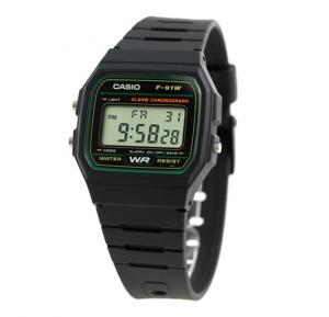 Casio Mens Digital Watch - F-91W-3DG