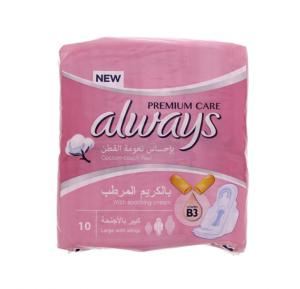 Always Premium Care Cotton Touch Feel Pads (1 x 10 = 10)