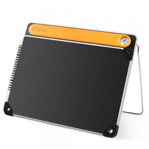 BioLite SolarPanel 10+ with Integrated Power Bank, 10 watts