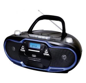 Trevi 0574004 CMP 574 MP3 Portable Stereo CD Player, MP3