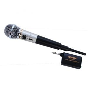 Geepas Entertainment Head Phone/Microphone GMP3927, Wireless  Function Microphone