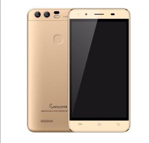 Crescent Venus 10 3G Smartphone, Android 6.0, 5 Inch HD Display, 1GB RAM, 8GB Storage, Dual Camera, Wifi- Gold