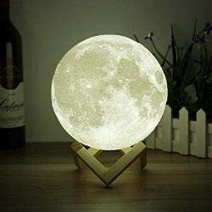 3D Moon Lamp White, HS1001